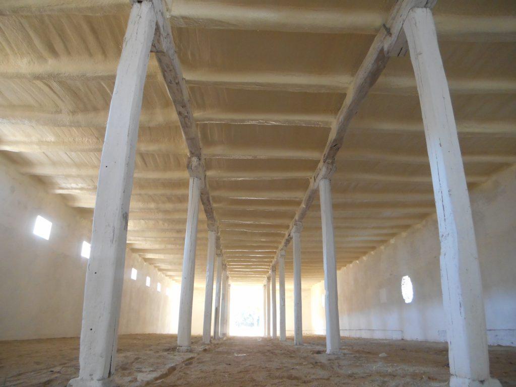 Ipari épület teljes hőszigetelése