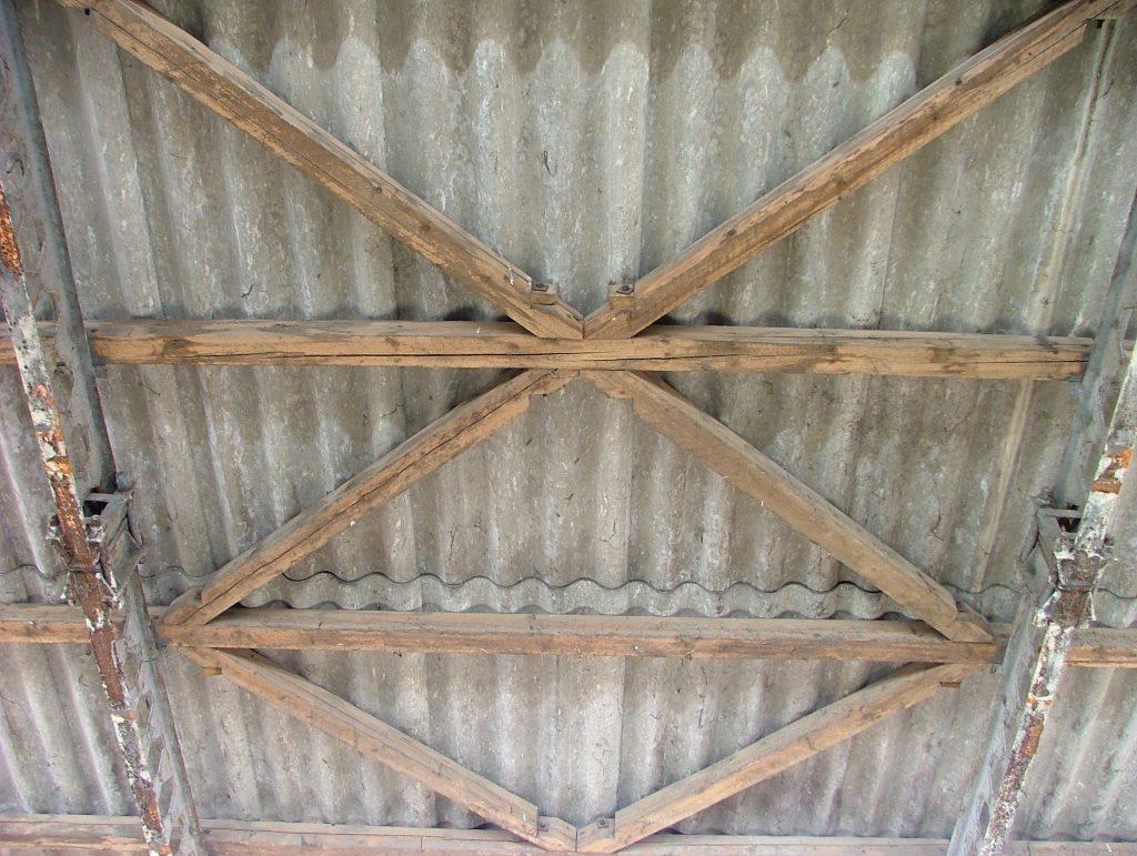 Mohácson, tetőszigetelés előtti kép