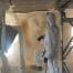 A szekszárdi gázrobbanás épületének mentése purhabbal